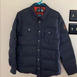 Men's The North Face DOWN SIERRA SNAP JACKET M